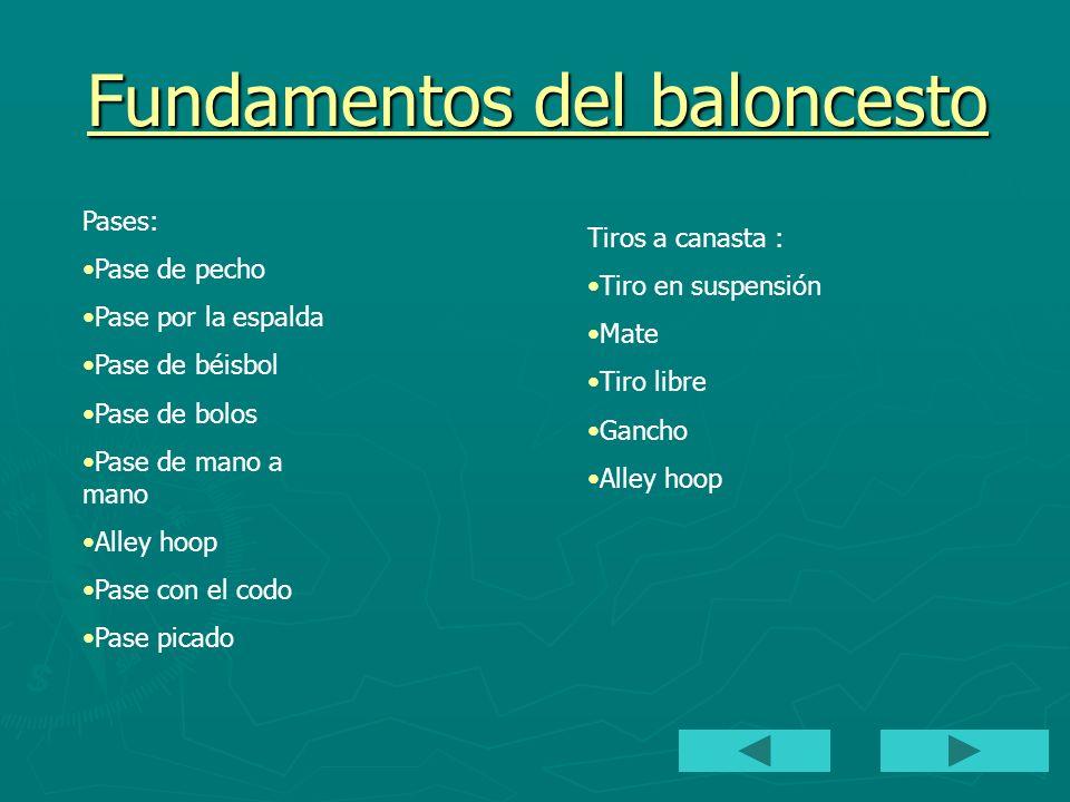 Fundamentos del baloncesto 2 BOTE Y DRIBLE De control De protección En velocidad DEFENSA Individual En presión En zona : 2/3,3/2, 1/3/1….