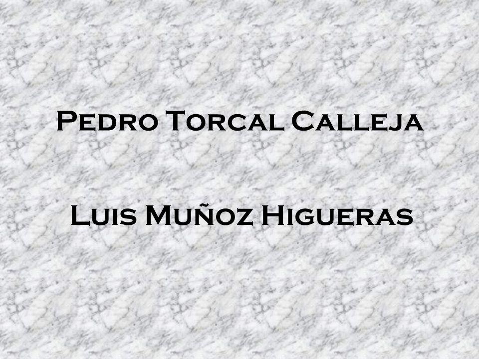 Pedro Torcal Calleja Luis Muñoz Higueras