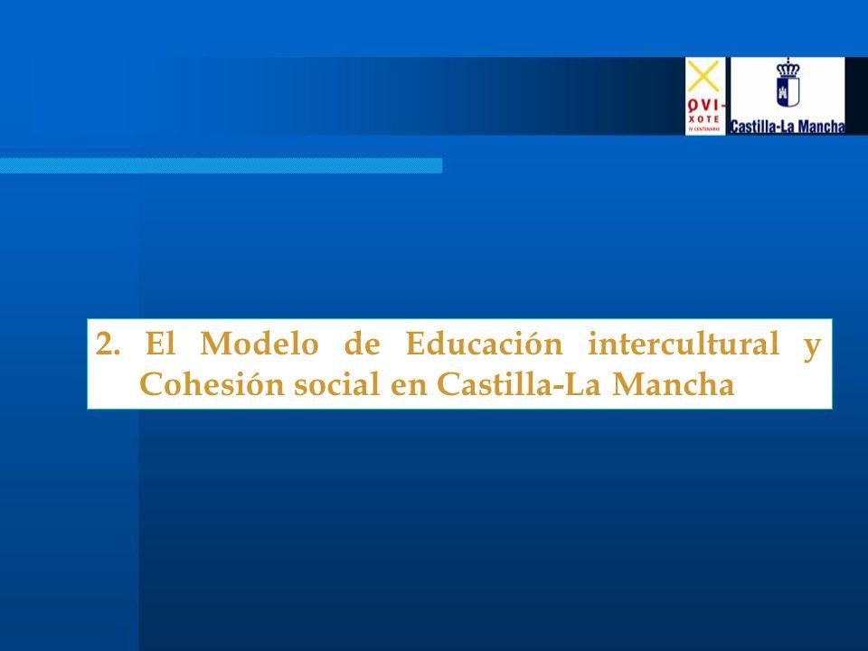 2. El Modelo de Educación intercultural y Cohesión social en Castilla-La Mancha