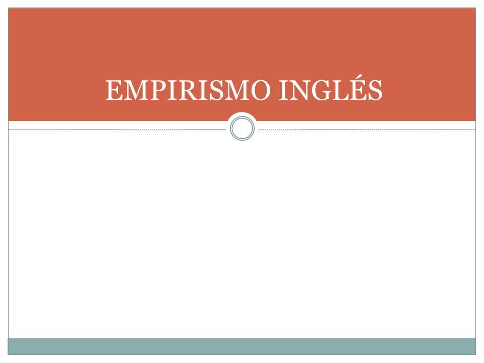 EMPIRISMO INGLÉS