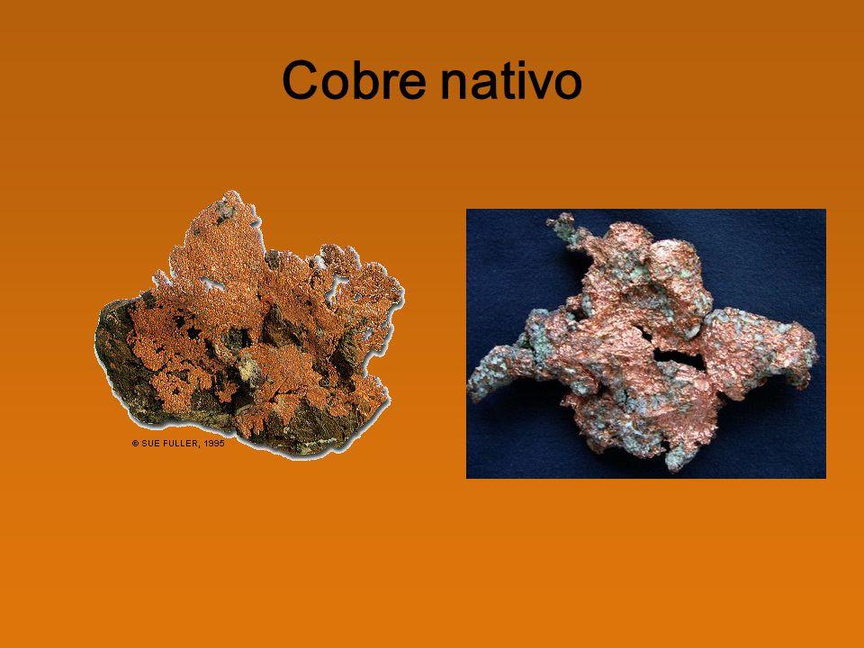 Sulfuros CalcopiritaCalcosina