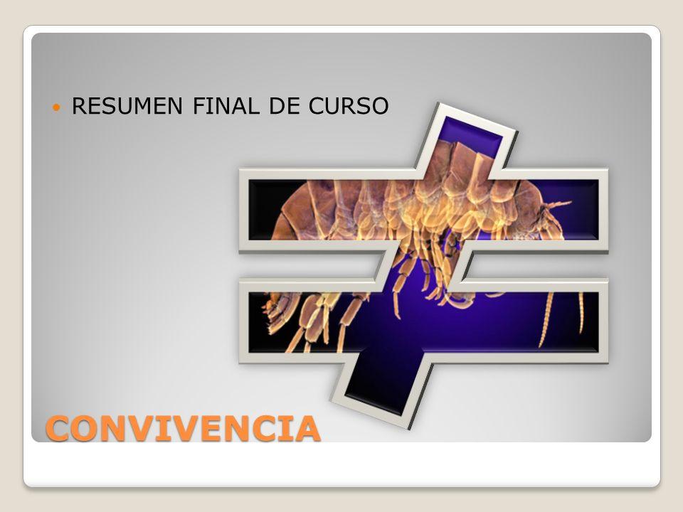 CONVIVENCIA RESUMEN FINAL DE CURSO