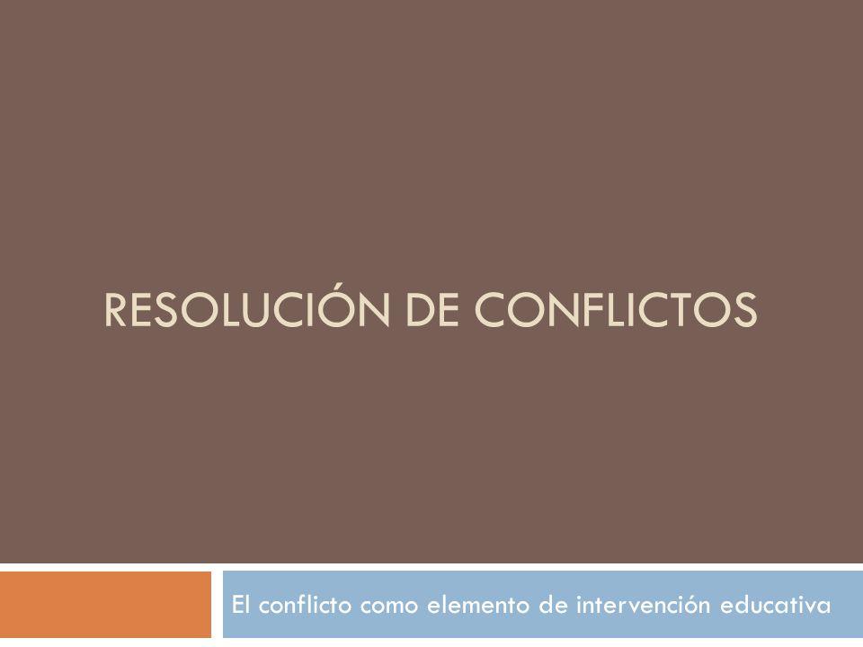 Algunas cosas previas: Los conflictos son consubstanciales a las relaciones personales.