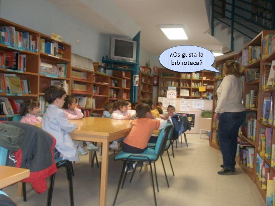 ¿Os gusta la biblioteca?