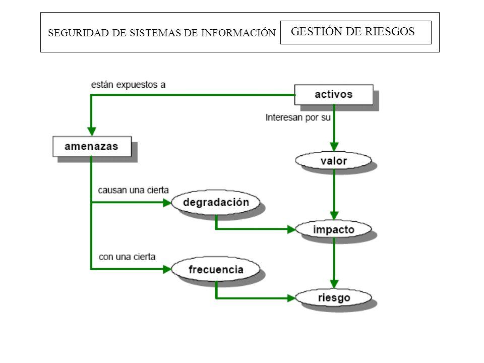 SEGURIDAD DE SISTEMAS DE INFORMACIÓN GESTIÓN DE RIESGOS