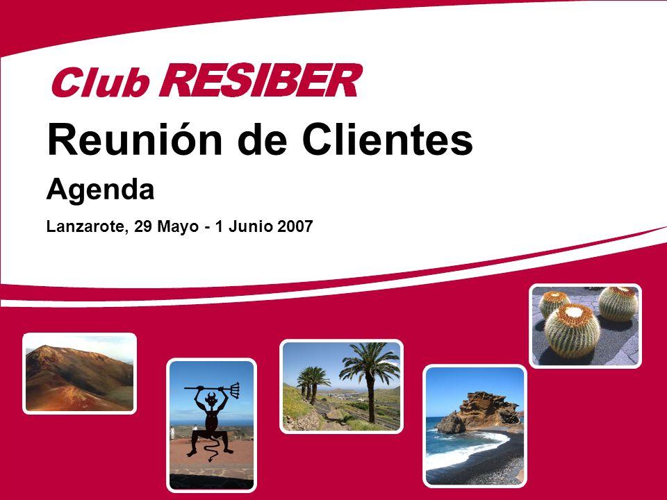 Club Reunión de Clientes Agenda Lanzarote, 29 Mayo - 1 Junio 2007