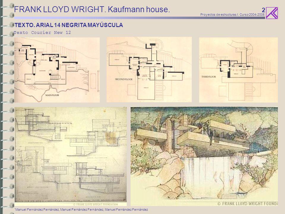 3 Proyectos de estructuras I.