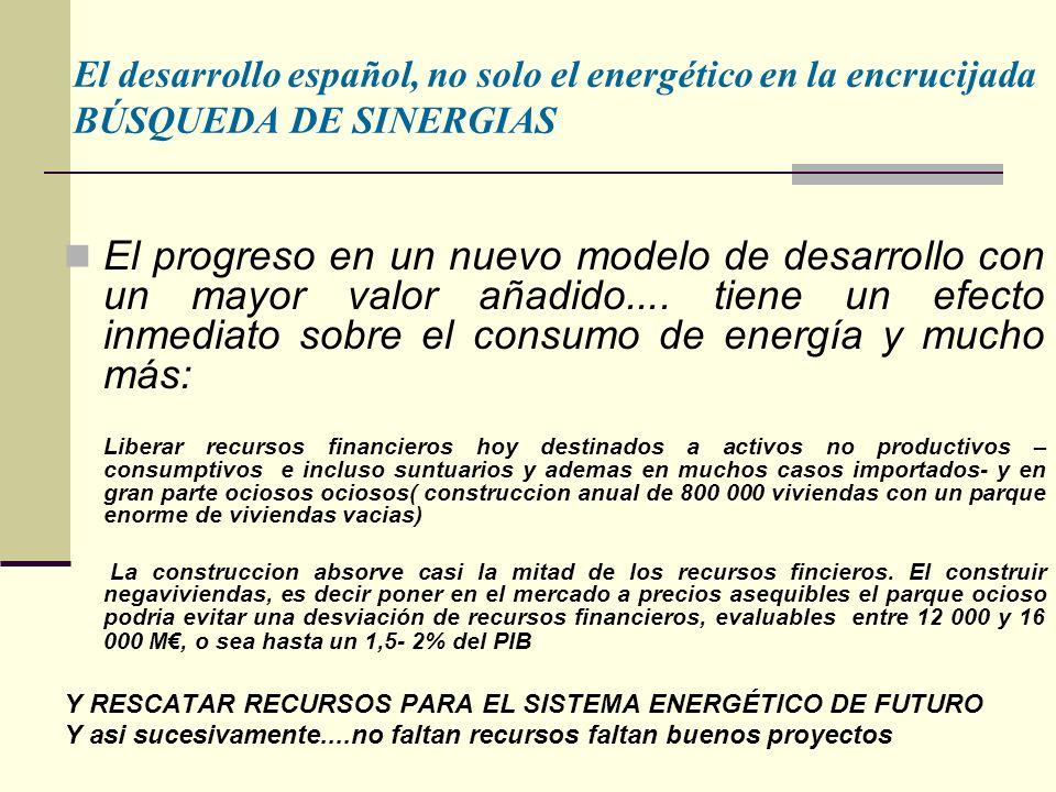 El progreso en un nuevo modelo de desarrollo con un mayor valor añadido....