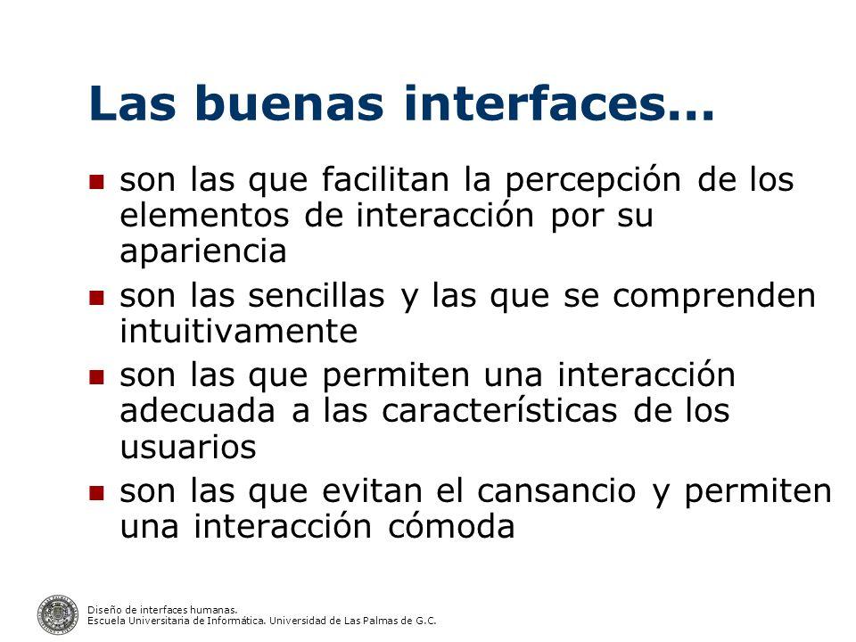 Diseño de interfaces humanas.Escuela Universitaria de Informática.