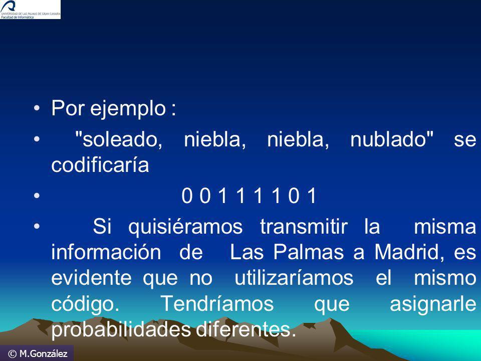 © M.González Por ejemplo :