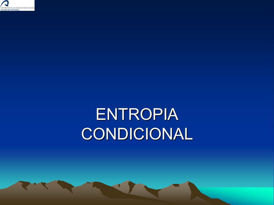 ENTROPIA CONDICIONAL