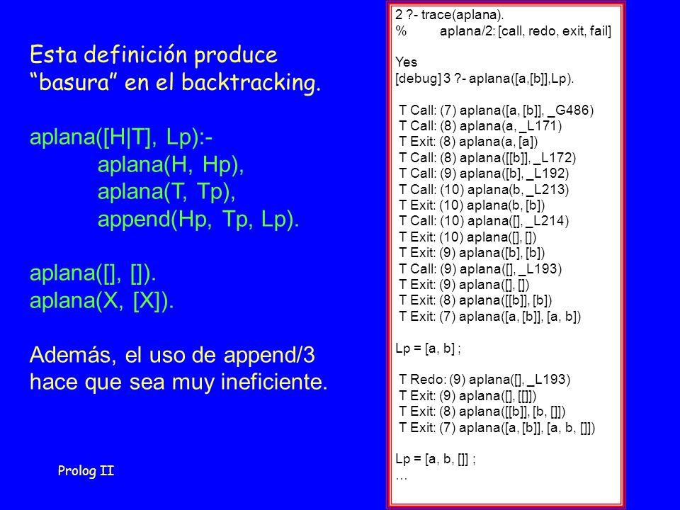 Prolog II36 2 - trace(aplana).