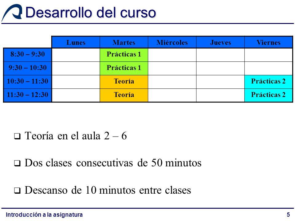 Metodología y criterios de evaluación