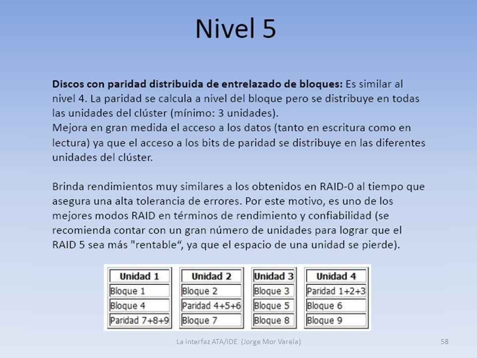 La interfaz ATA/IDE (Jorge Mor Varela)58