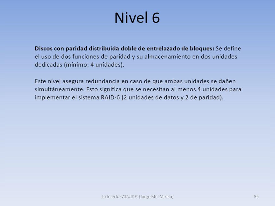 La interfaz ATA/IDE (Jorge Mor Varela)59