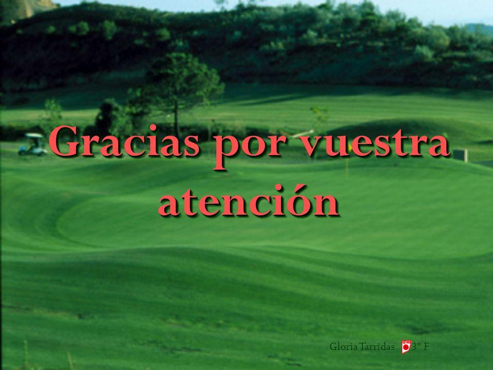 Gloria Tarridas 3º F Gracias por vuestra atención