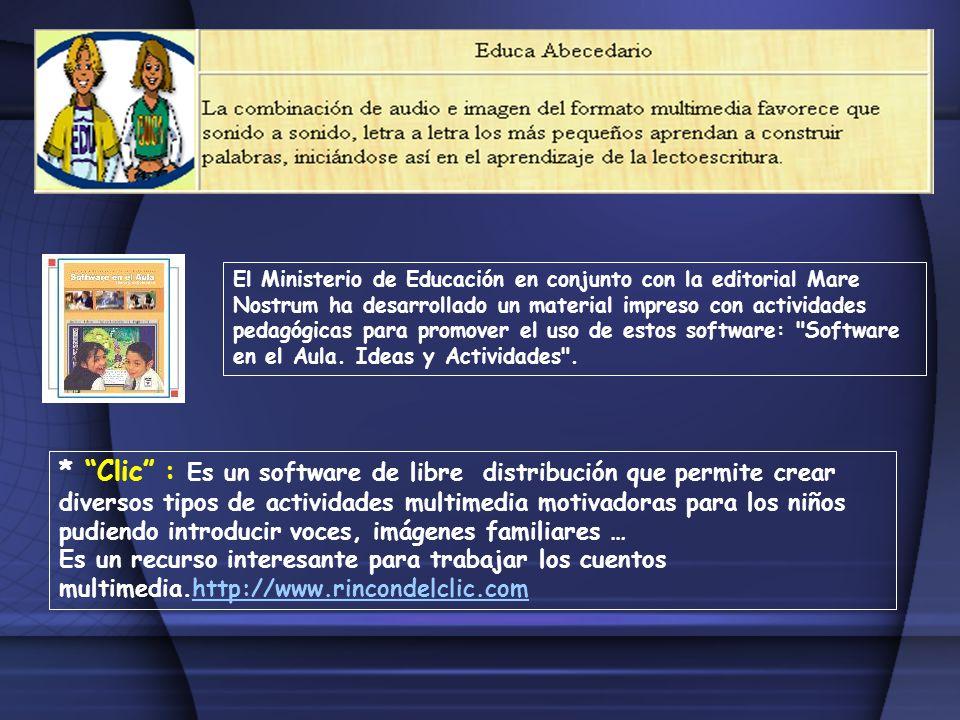El Ministerio de Educación en conjunto con la editorial Mare Nostrum ha desarrollado un material impreso con actividades pedagógicas para promover el