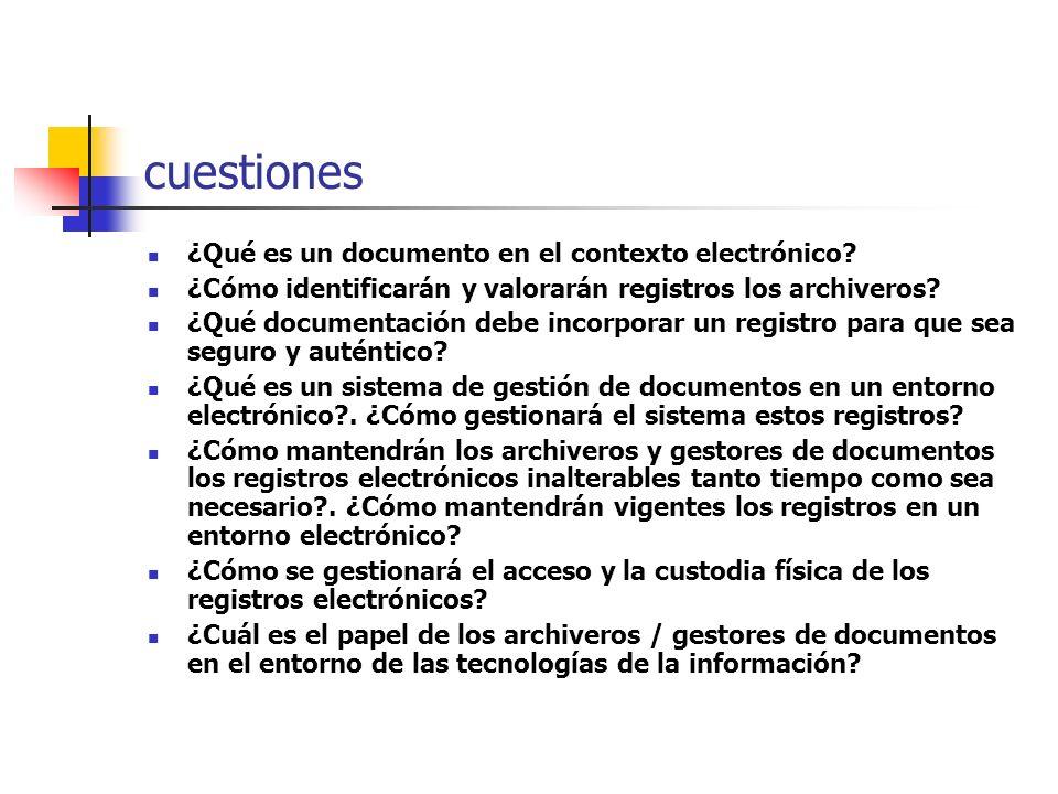 evolución de las respuestas primer periodo informático (50-70) conversión de datos informáticos a documentación en papel. volcados de información las