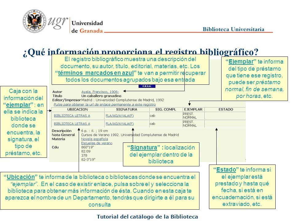 Interpretación de los iconos más usuales Tutorial del catálogo de la Biblioteca Material impreso Recurso electrónico (página web, Revista o libro electrónico, Base de datos...