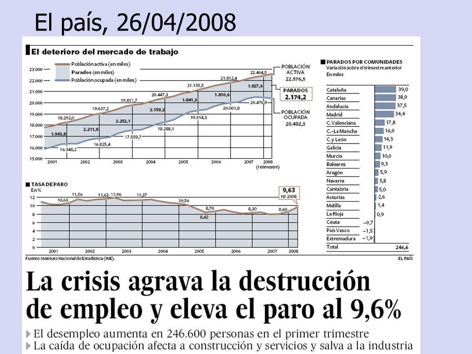 El país, 26/04/2008