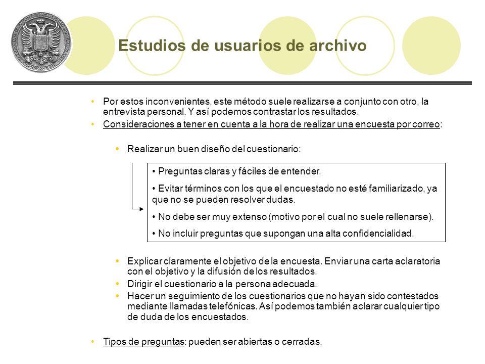 Tipos de cuestionarios: Estructurados Estructurados: el tipo de preguntas que incluye puede ser cerradas o abiertas, pero éstas están bien redactadas y presentadas en un orden definido.