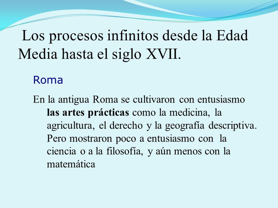 Roma En la antigua Roma se cultivaron con entusiasmo las artes prácticas como la medicina, la agricultura, el derecho y la geografía descriptiva.