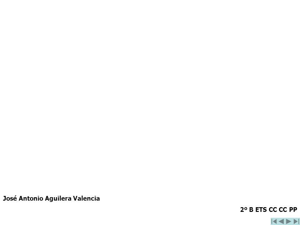 José Antonio Aguilera Valencia 2º B ETS CC CC PP