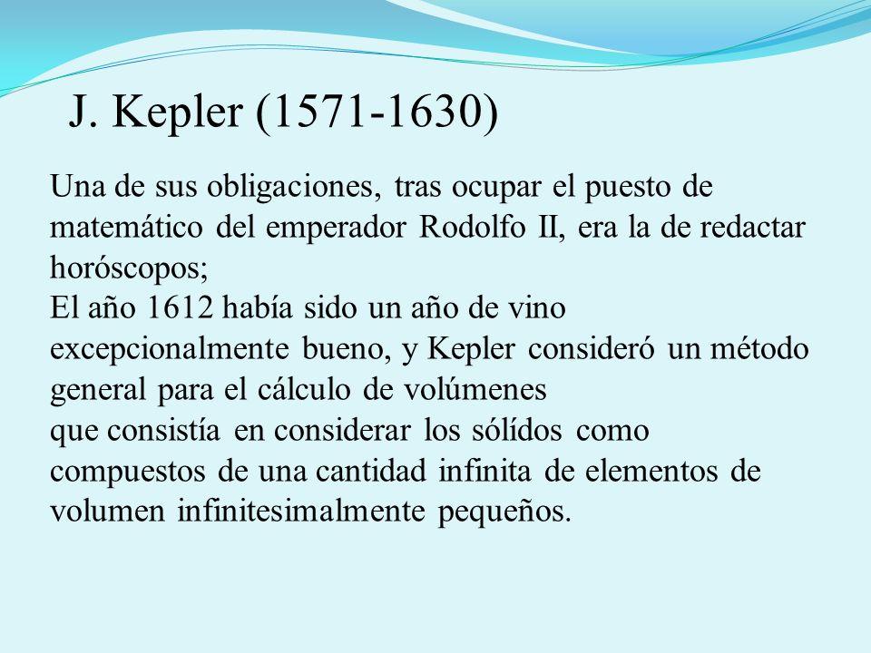 En su Astronomia Nova del año 1609 anunció sus leyes astronómicas 1º Los planetas tienen movimientos elípticos alrededor del Sol, estando éste situado en uno de los 2 focos que contiene la elipse.