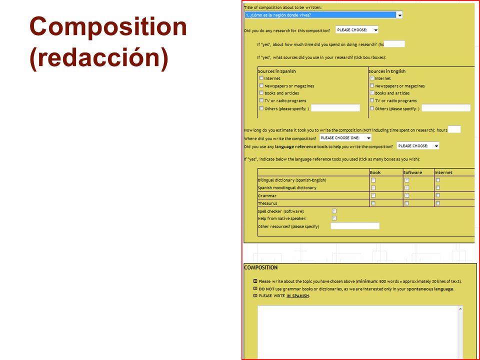 16 Composition (redacción)