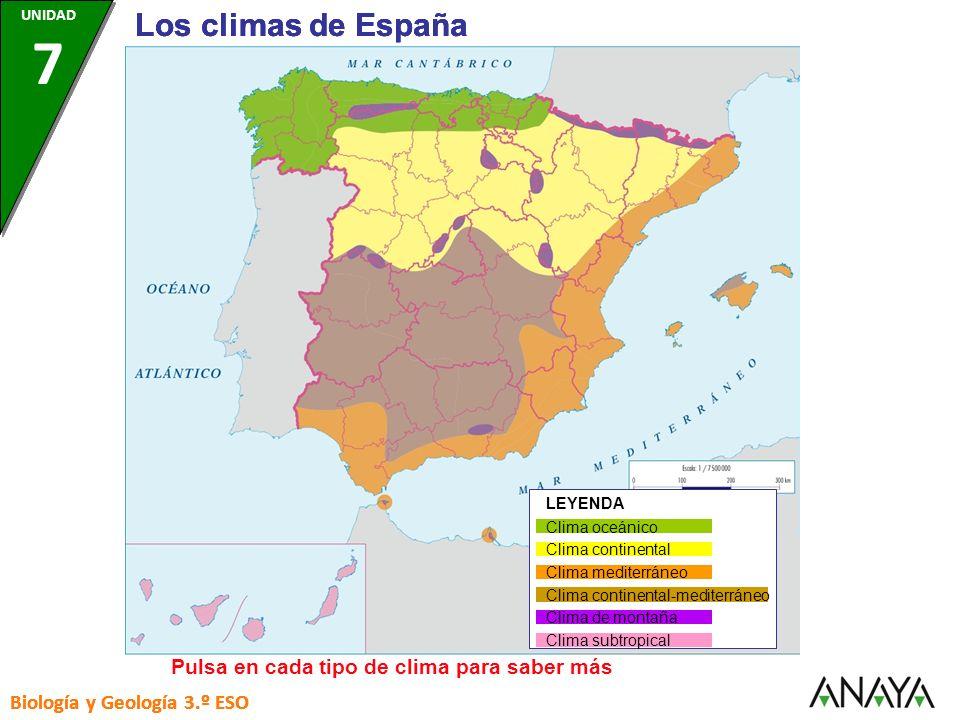 CLIMA CONTINENTAL Precipitaciones: Las lluvias son escasas y predominan en primavera y otoño.