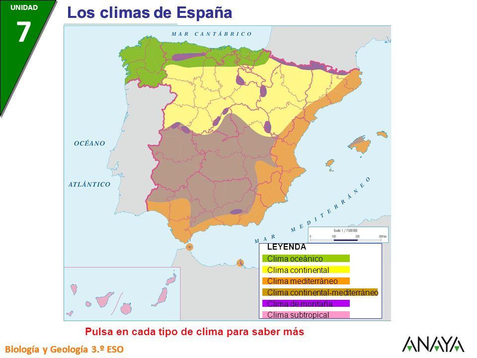 CLIMA CONTINENTAL- MEDITERRÁNEO Temperaturas: Los inviernos son menos fríos que en el clima continental, pero los veranos son más calurosos.