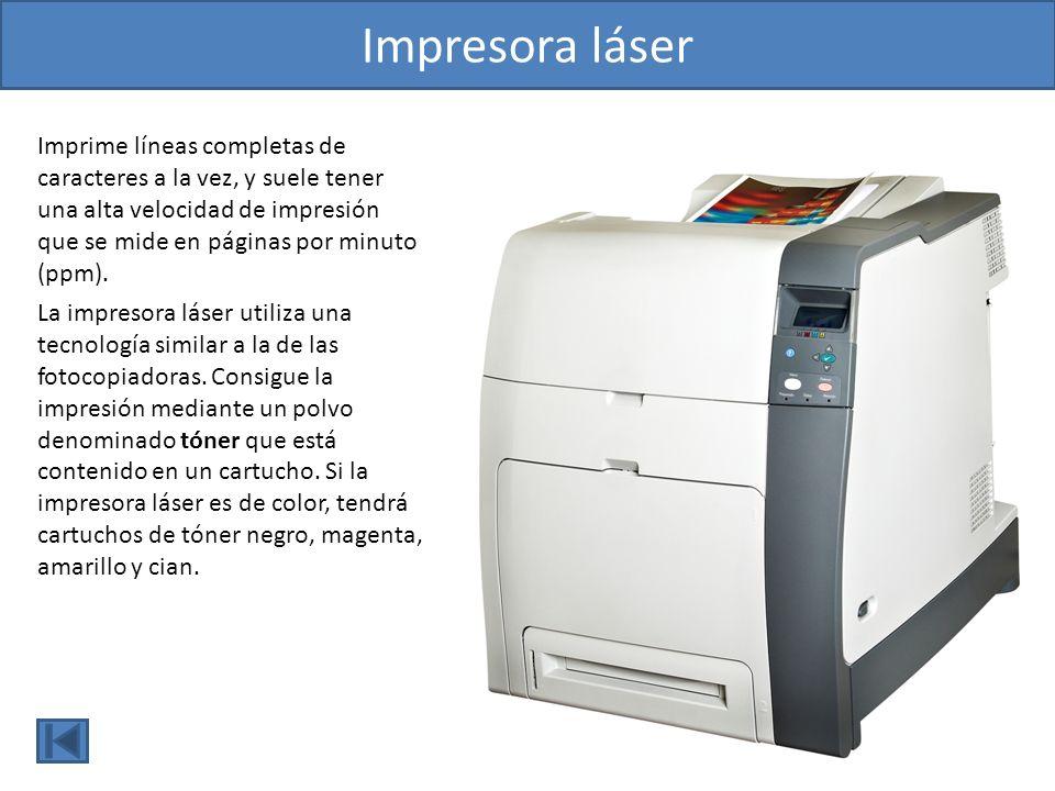 Plóter Es un dispositivo de salida de gran formato, y sirve para plasmar la información procedente del ordenador en papel de gran tamaño.