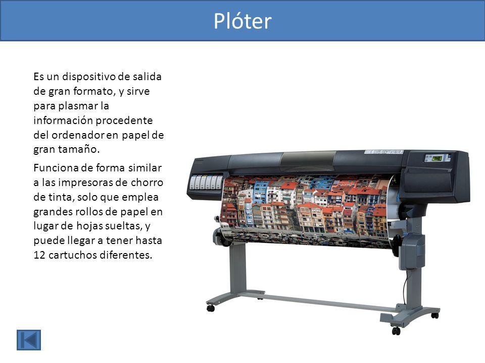Escáner Dispositivo de entrada que convierte imágenes de cualquier tipo en información digital comprensible por el ordenador.