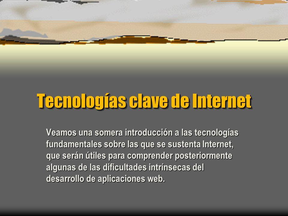 Introducción al desarrollo de aplicaciones web César Fernández Acebal 15 Encaminamiento de paquetes con TCP/IP