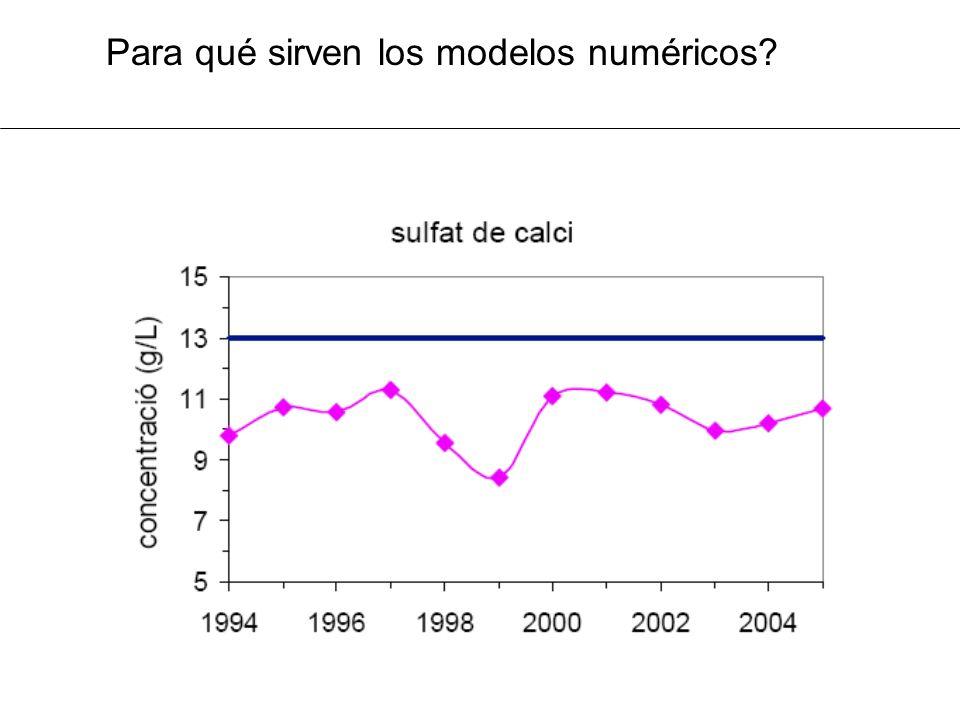 Para qué sirven los modelos numéricos?
