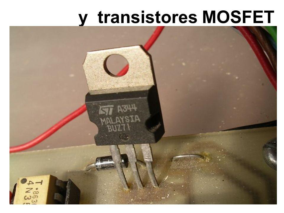 y transistores MOSFET