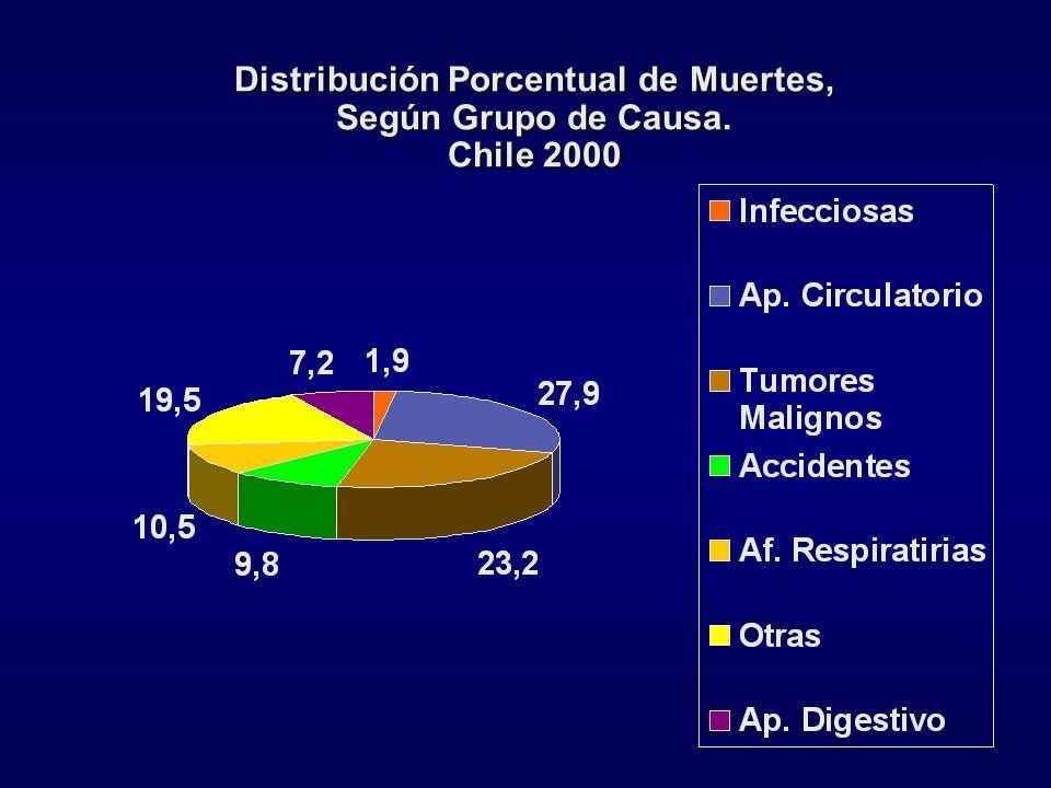Principales problemas de salud en Chile y sus tendencias