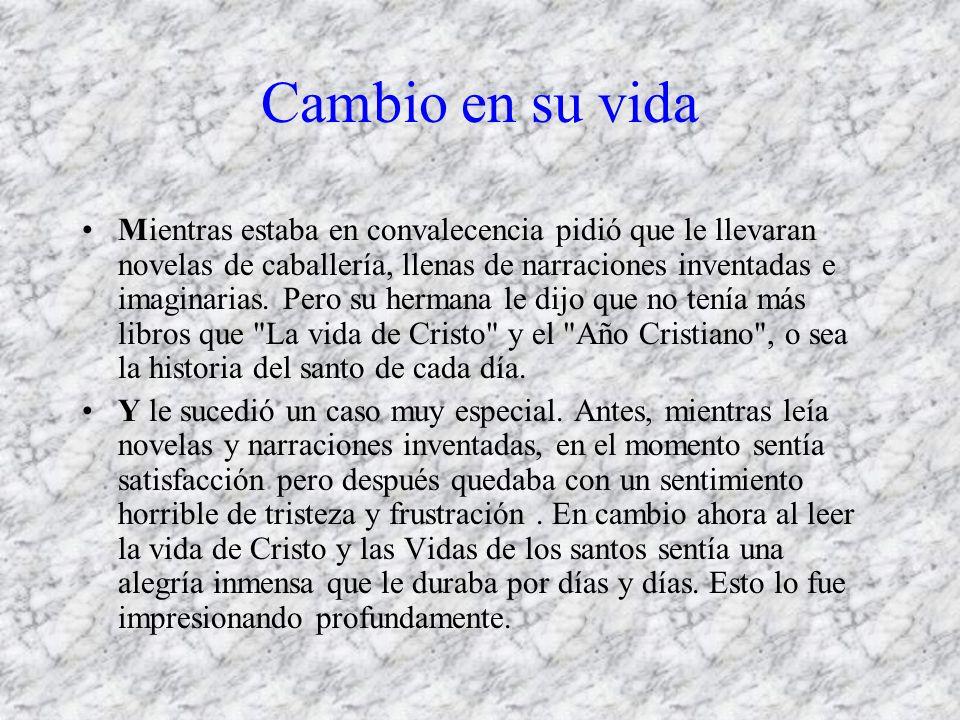 Lo más importante El libro más famoso de San Ignacio se titula: Ejercicios Espirituales y es lo mejor que se ha escrito acerca de como hacer bien los santos ejercicios.
