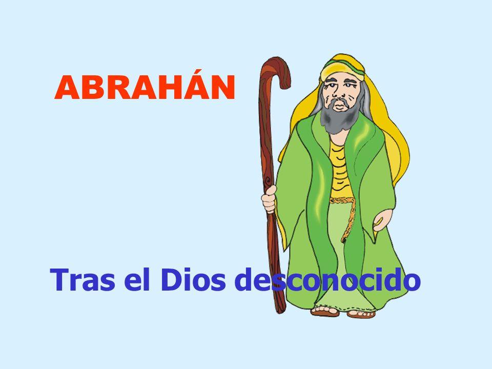 En la historia de Abrahán, Dios aparece como alguien que llama e invita a salir hacia una nueva vida.