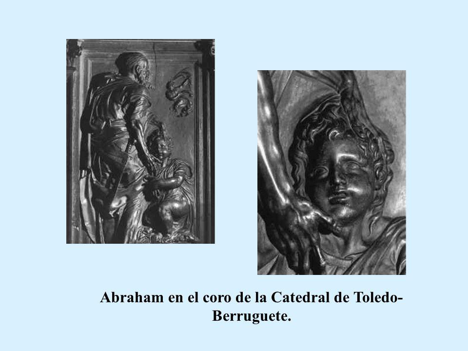 Título: Sacrificio de Isaac (1630 h.) Autor: Domeniquino Museo: Museo del Prado Caract: Oleo sobre lienzo 147 x 140 cm.