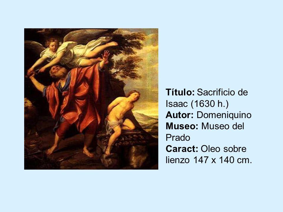 El sacrificio de Isaac Frans Francken II, el Mozo Madrid, Museo del Prado ÁNGEL.