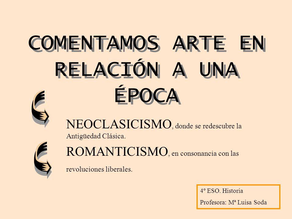 NEOCLASICISMO Movimiento artístico que se originó en Italia durante el segundo tercio del siglo XVIII.