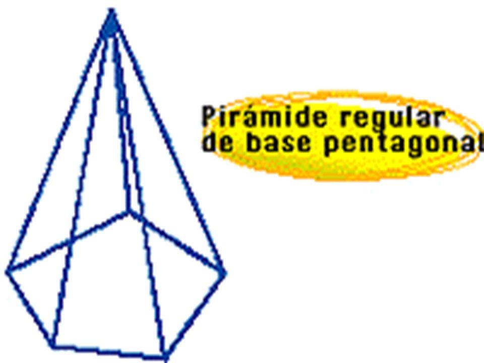 Las pirámides irregulares pueden tener como base polígonos irregulares, o bien, que alguna de sus aristas laterales tenga distinta medida.Las pirámides irregulares pueden tener como base polígonos irregulares, o bien, que alguna de sus aristas laterales tenga distinta medida.