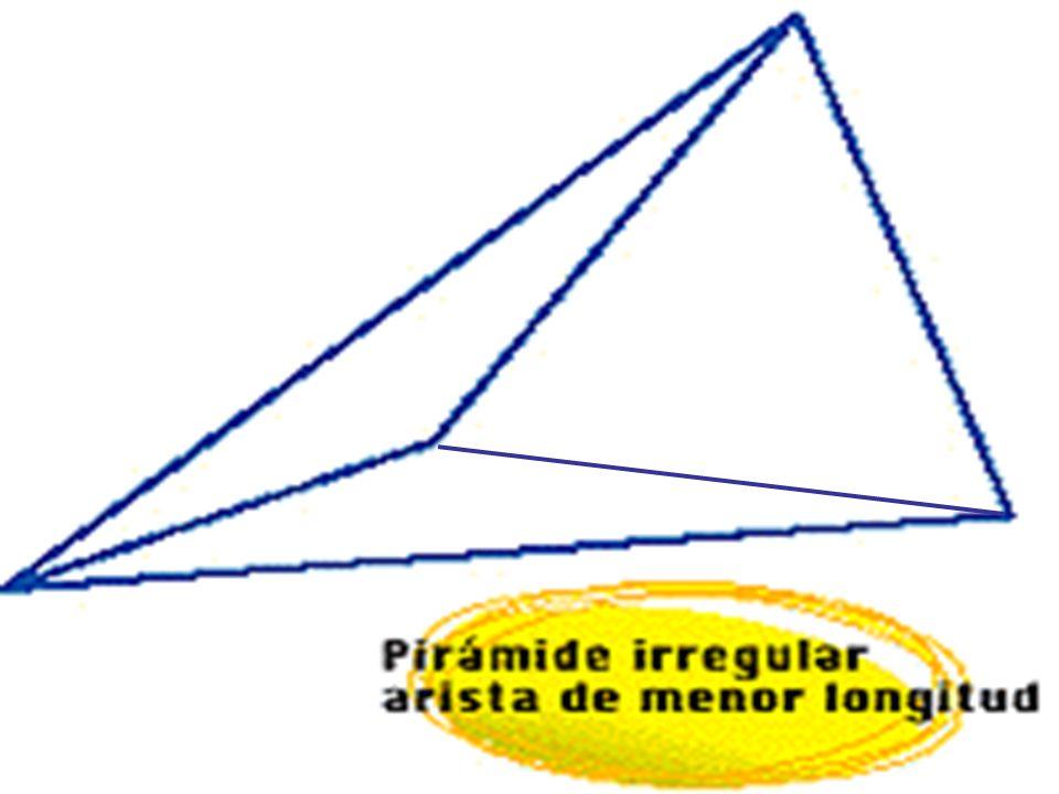 En una pirámide, la altura corresponde al segmento perpendicular que une la base con la cúspide.En una pirámide, la altura corresponde al segmento perpendicular que une la base con la cúspide.