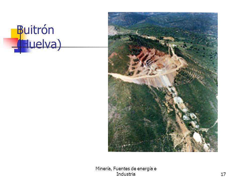 Minería, Fuentes de energía e Industria17 Buitrón (Huelva)