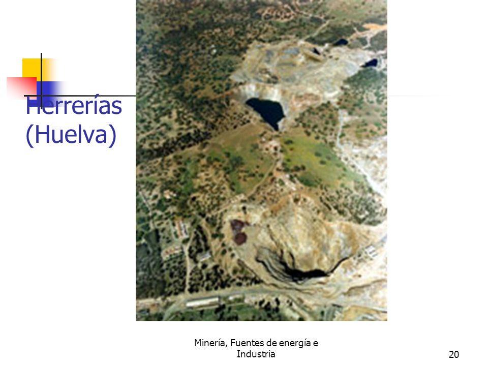 Minería, Fuentes de energía e Industria20 Herrerías (Huelva)
