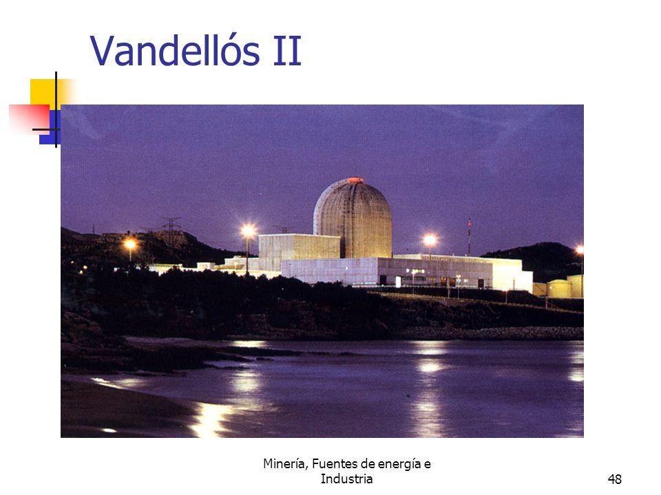 Minería, Fuentes de energía e Industria48 Vandellós II