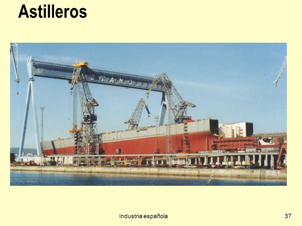 Industria española37 Astilleros