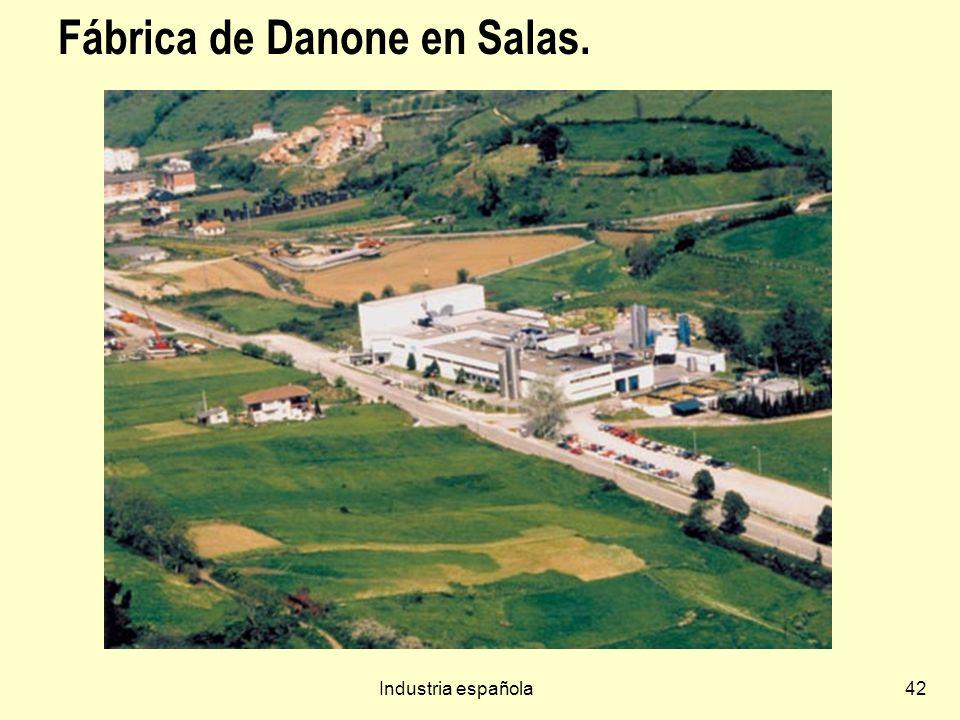 Industria española42 Fábrica de Danone en Salas.