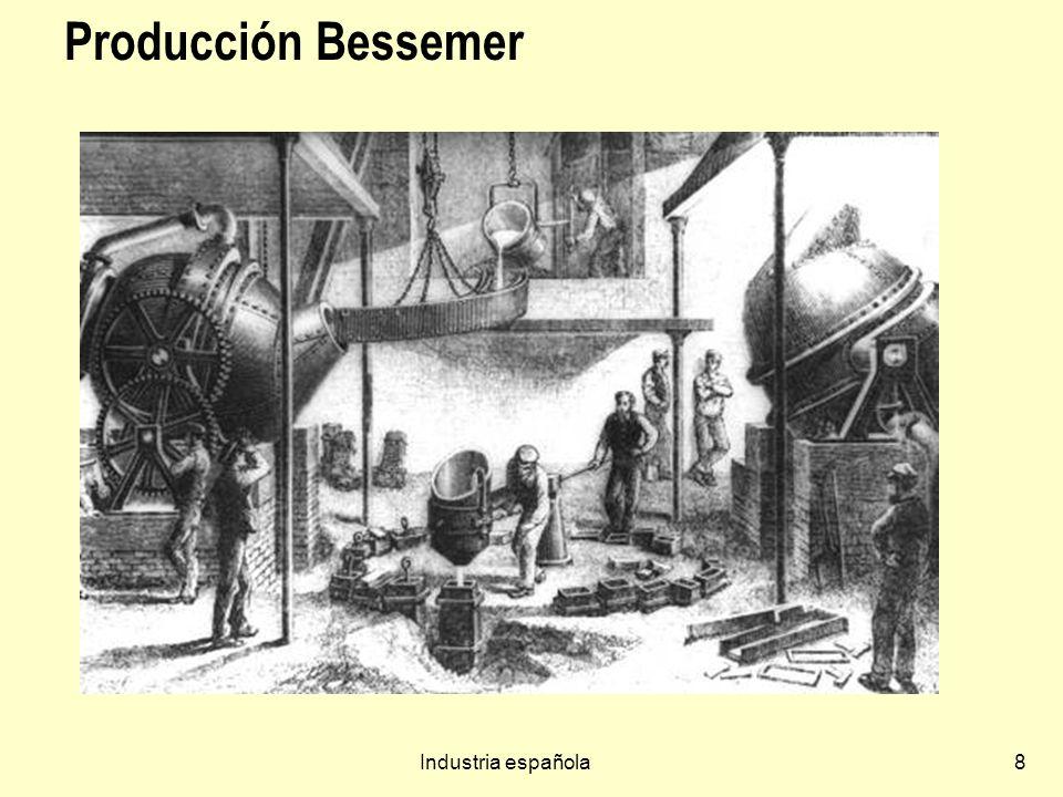 Industria española8 Producción Bessemer